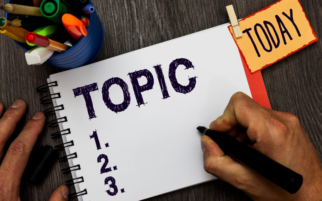 3 Real Estate Blog Topics That People Like to Read